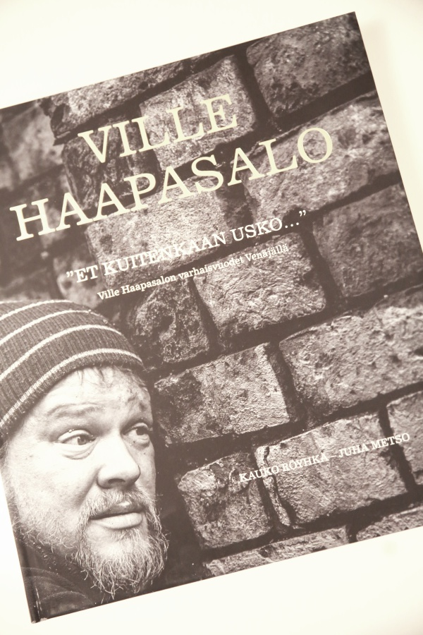 Ville Haapasalo started a scandal on the first channel 03.09.2009