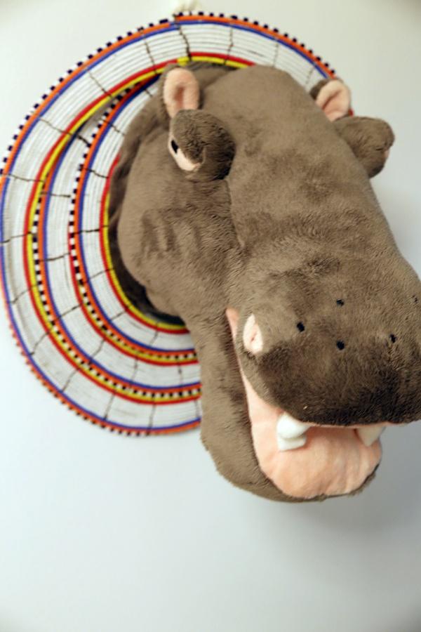 masai hippo torso head AFRIKAN TÄHTI