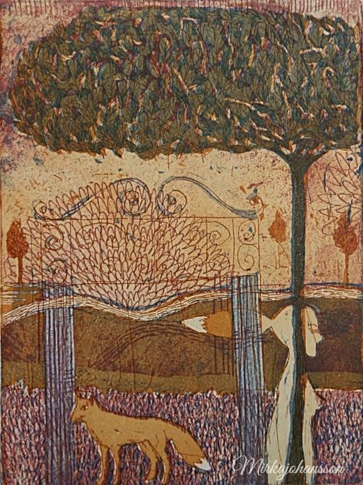 The Gate Mirka Johansson Grafiikkaa